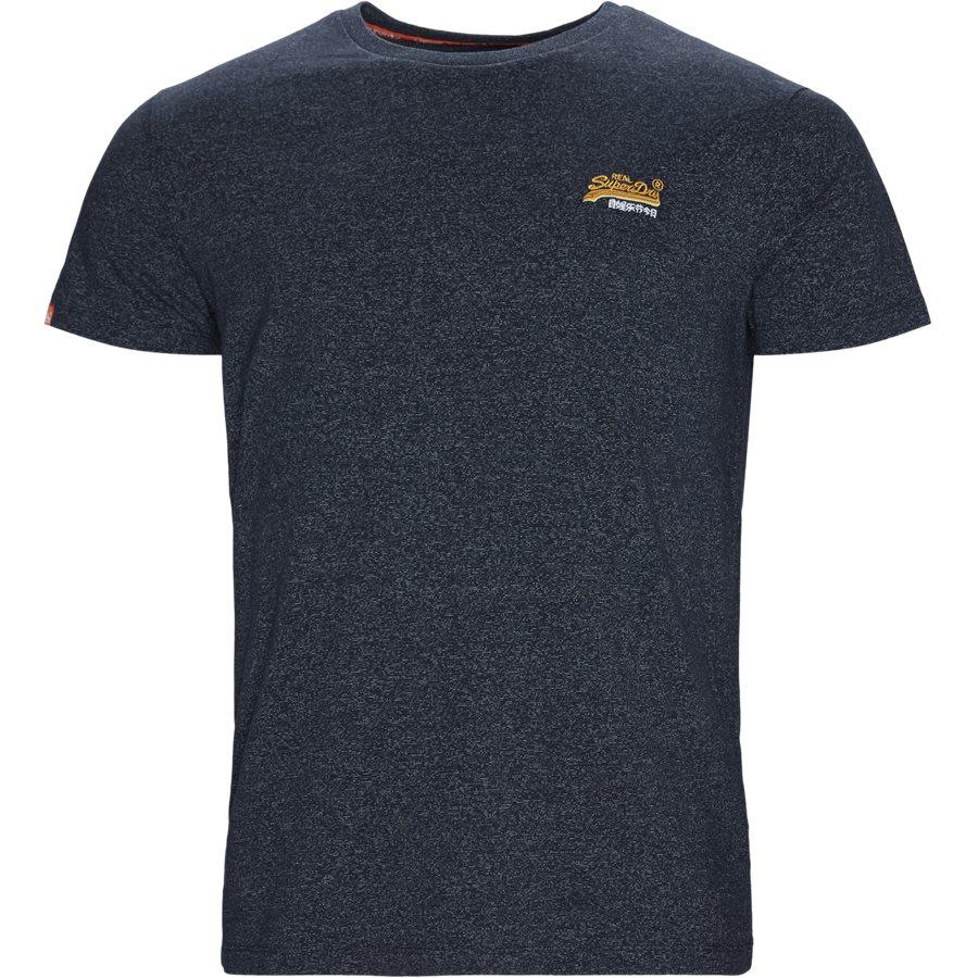 M1010 - T-shirts - NAVY MEL D3H - 1